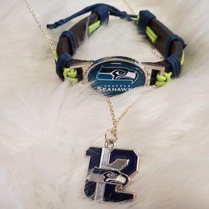 Jewelry - Seattle Seahawks Jewelry Set